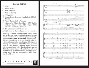 Easter Introit by John Ferguson