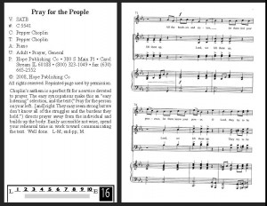 Pray for the People - Pepper Choplin