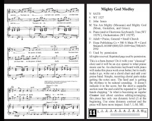 9803 Mighty God Medley
